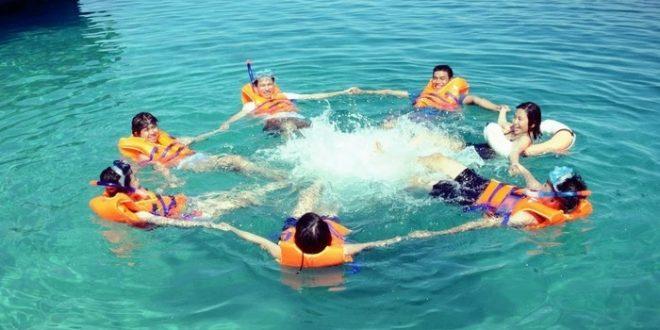 DU LỊCH QUY NHƠN ( Tour 2 đảo Kỳ Co – Hòn Khô - Lặn ngắm San Hô) Hotline:  09355 38339 - Tour Quy Nhơn - Quang Minh Tourist